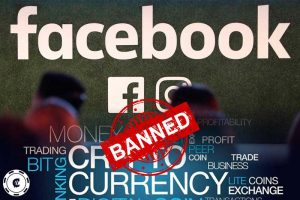 facebook banned cryptocurrency