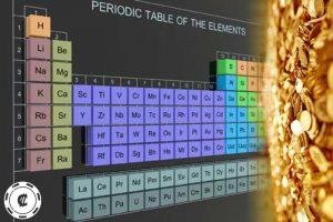 periodic table, gold, altın